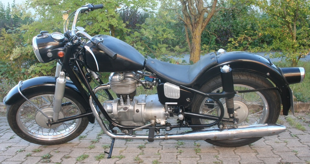 Motorrad R27 Bj.1961 Bobber komplett, fahrbereit