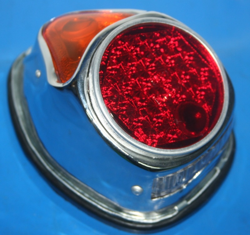 Rücklicht R25 R25/2 51/2 Eber Chrom mit Bremslicht