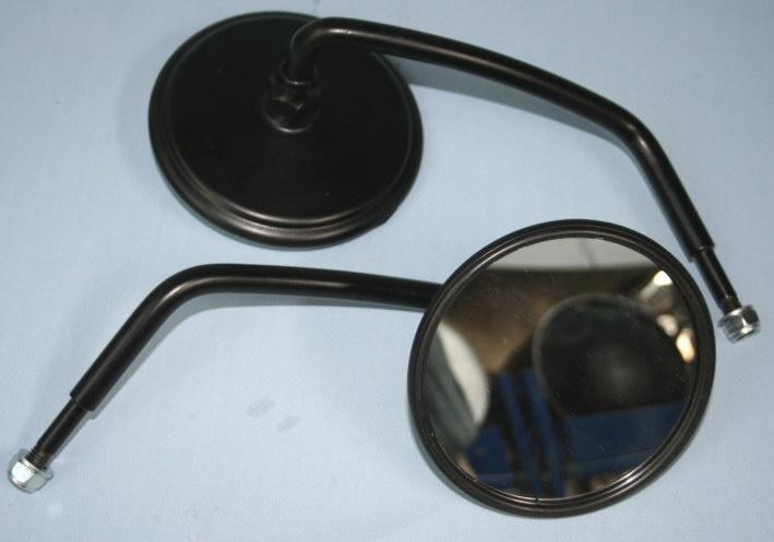 Spiegel rechts kurz schwarz LG