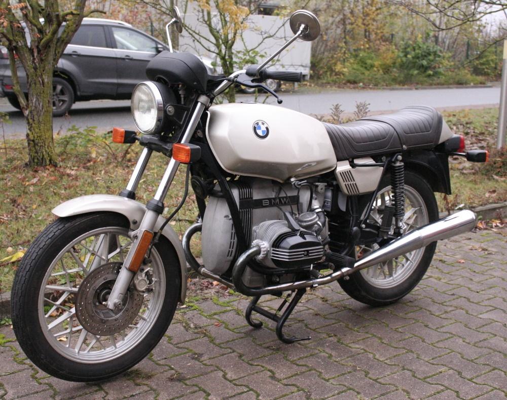 Motorrad R45 EZ 8/1978 Gold Inspektion + HU neu