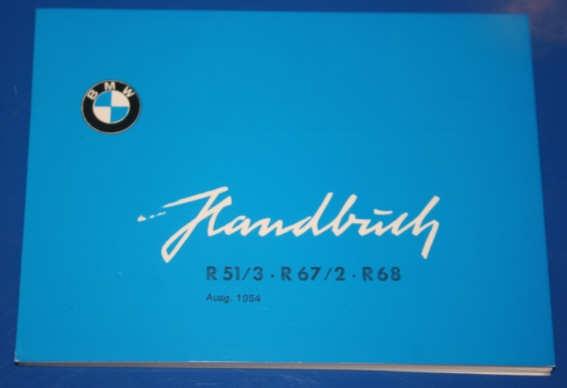 Betriebsanleitung R51/3,67,67/2,68 deutsch