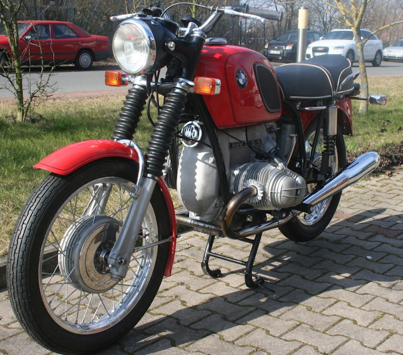 Motorrad R50/5 EZ3/1970 Inspektion + HU neu