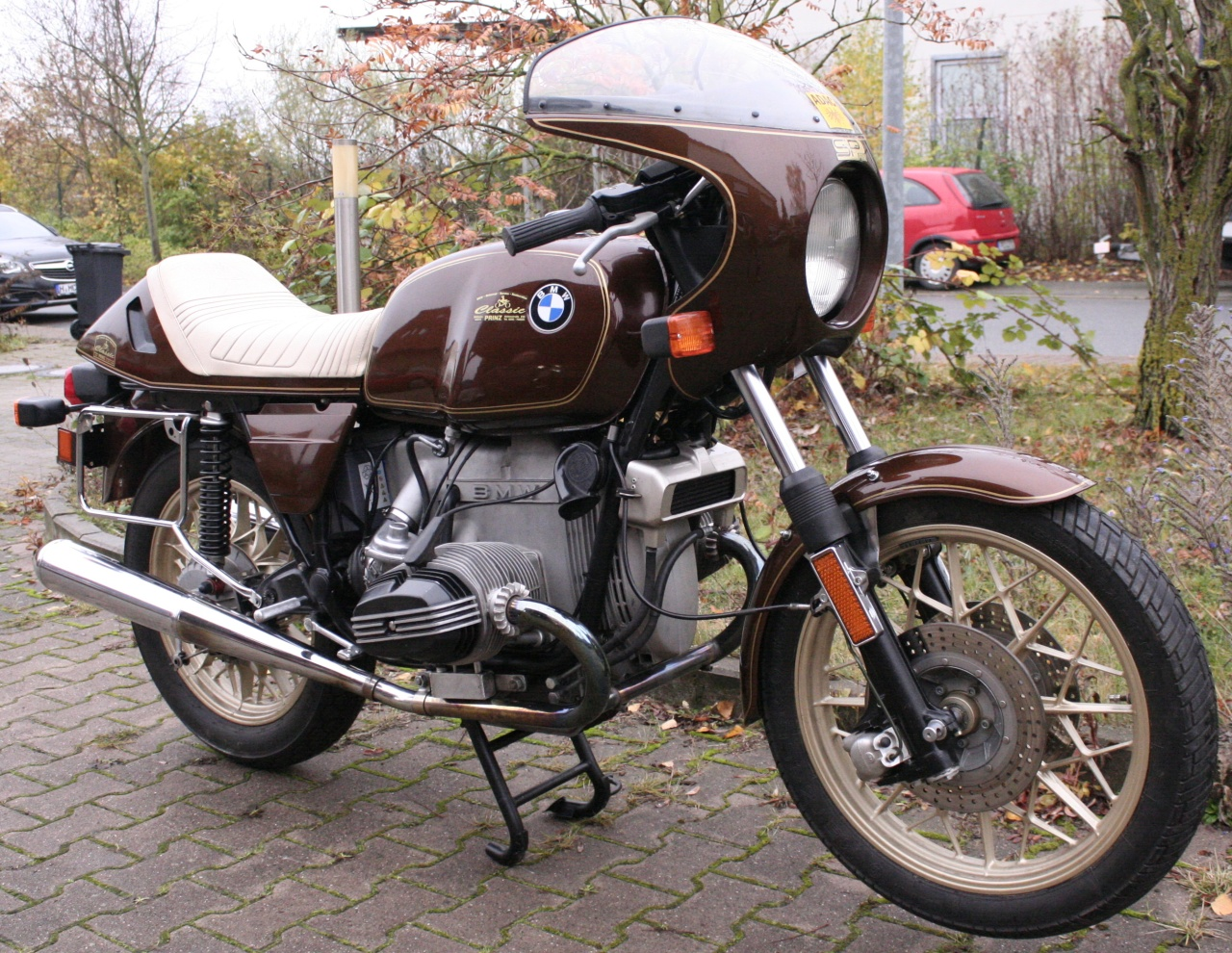 Motorrad R80/7 EZ 5/1980 Inspektion + HU neu