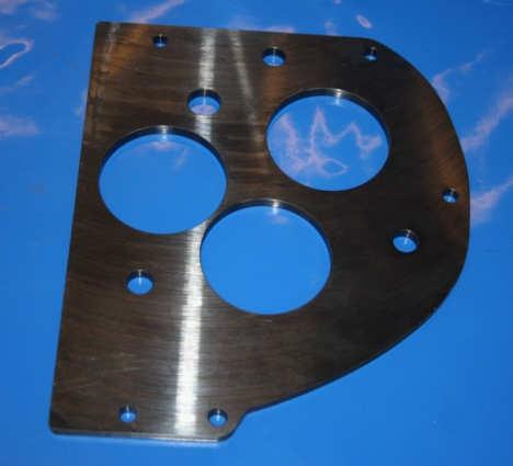Messplatte Getriebe /6-1995