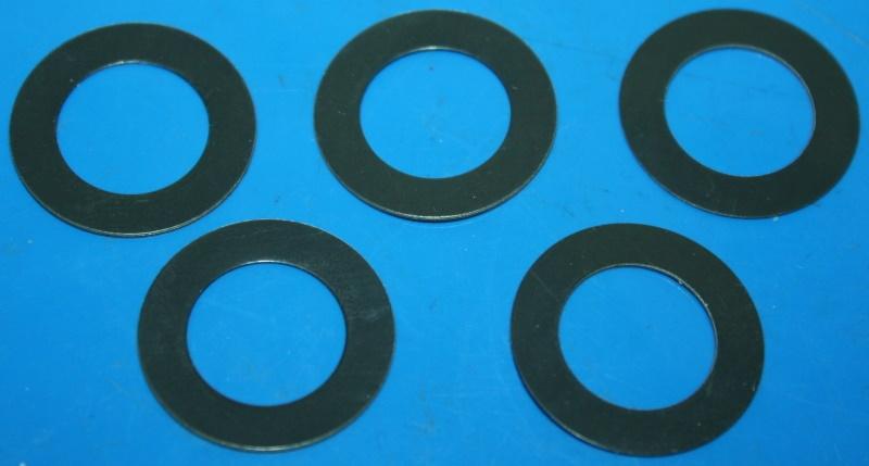 Beilegscheibe Bremsscheibe vorn HP2 Enduro (5x) Rollenseitig