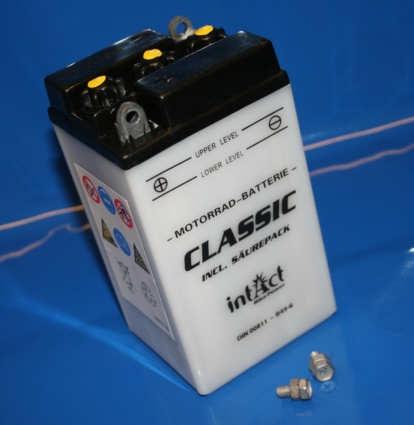 Batterie 6V 8AH B49-6