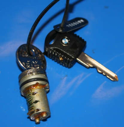 Schließzylinder Tankdeckel u.a. K75/100/1100 mit Schlüssel