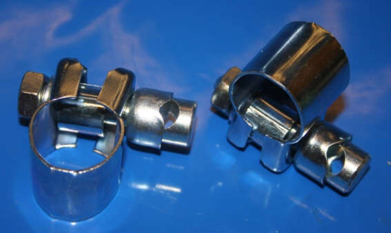 Schelle Spiegel 22mm / 9,5mm Stange