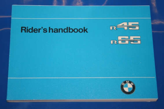 Betriebsanleitung R45/65 english owners manual 1978-1980
