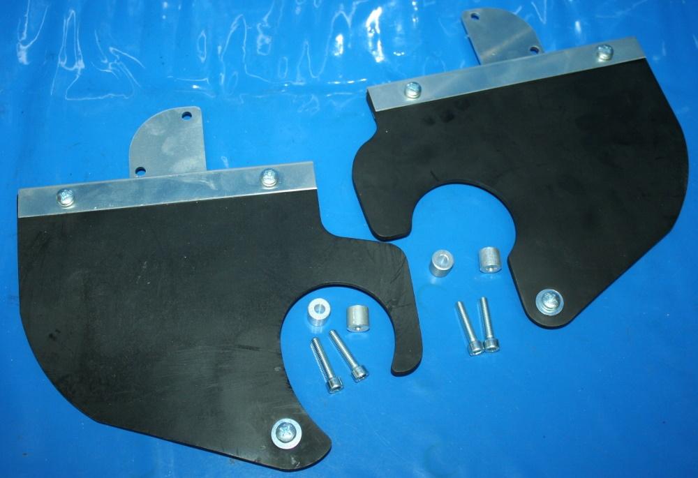 Fußschützer R850 R1100R/GS R1150GS Sprizschutz
