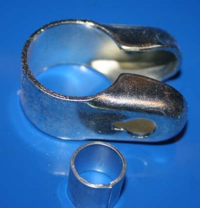 Schelle Spiegel 1 25mm für Umbau auf Zolllenker