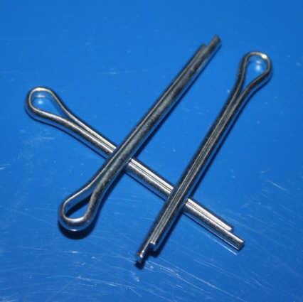 Splint Werkzeugfachdeckel,Seitenständer R50, Kuppl.Hebel u.a