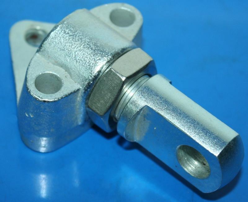 Flachanschluss 3.Punkt R24-R27 Seitenwagenanschluss u.Sattel