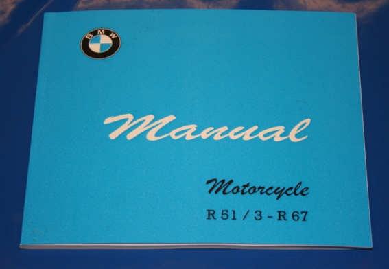 Betriebsanleitung R51/3 R67 english owners manual