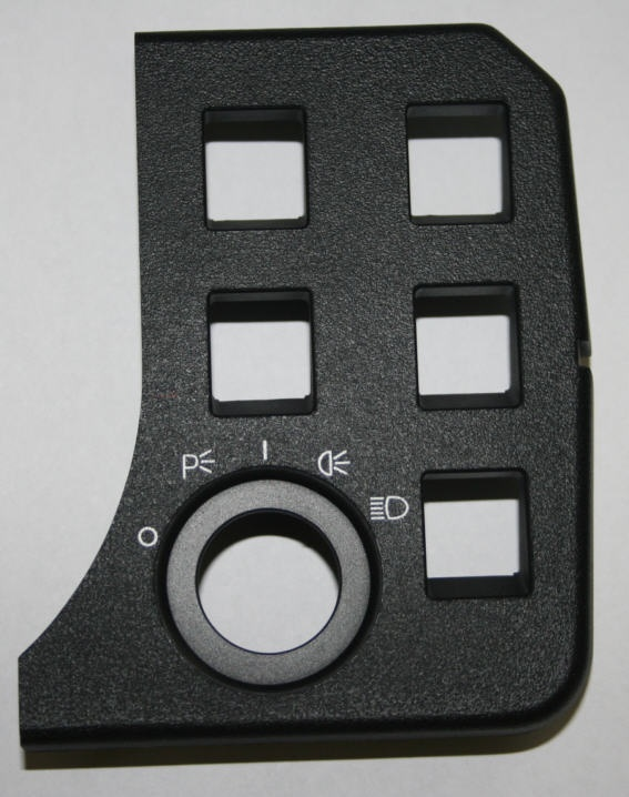 Abdeckung Kontrolleuchten G/S R80/100GS -90