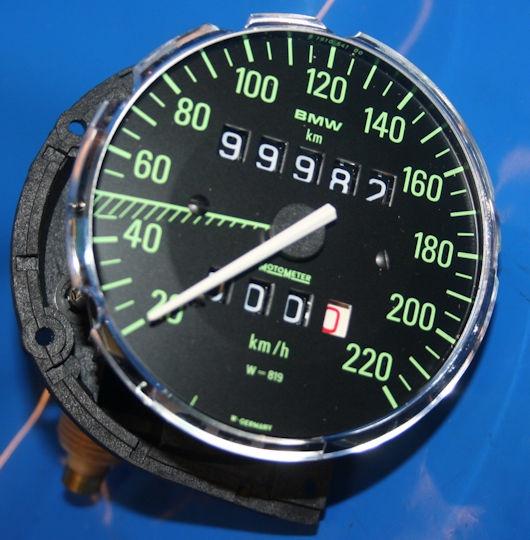Tacho 819 grüne Ziffern R60/7 32:9 78-80