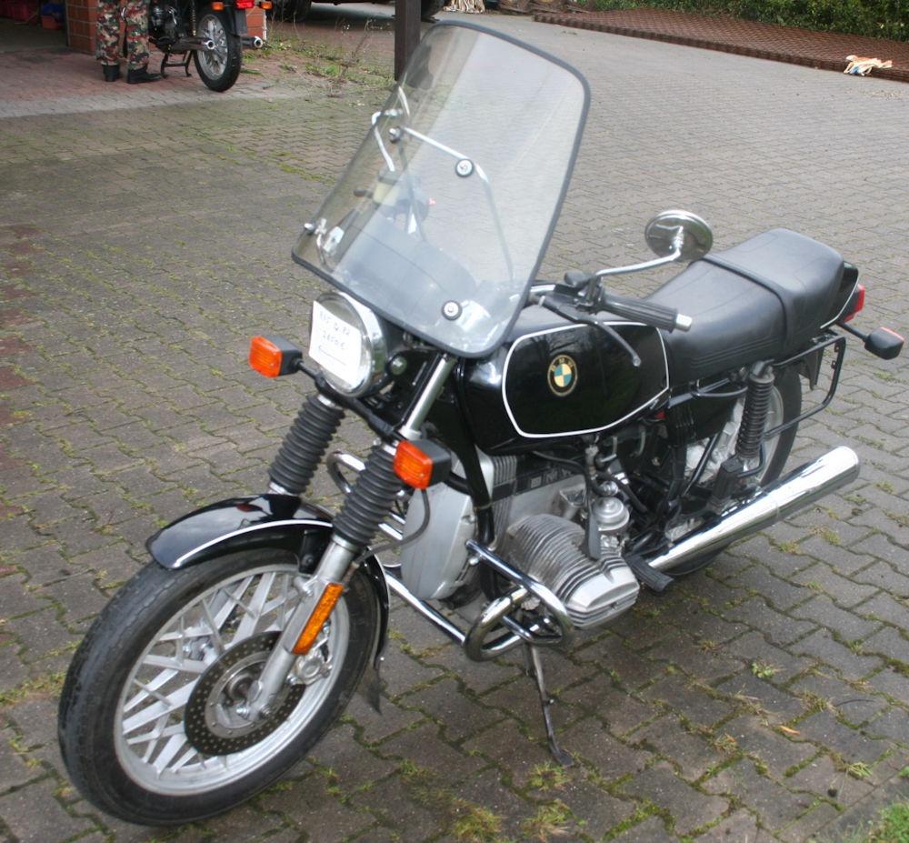 Motorrad R45 EZ 7/1982 Inspektion + HU 7/18