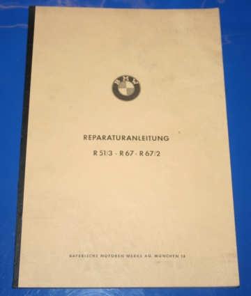 Werkstatthandbuch R51/3 R67,67/2 deutsch