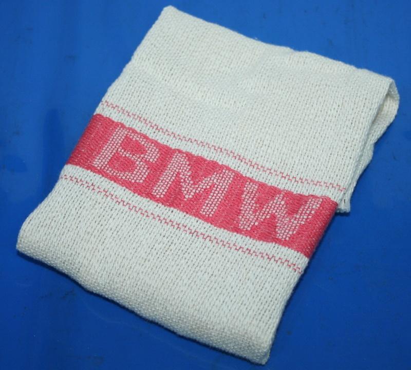 Putzlappen BMW Putztuch mit BMW Schriftzug rot