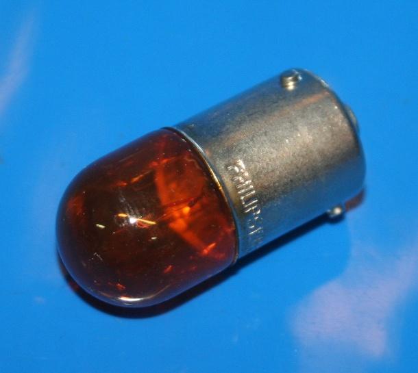Lampe 12V 10W BA15S gelb Blinker R1200GS F700 F800 S1000RR