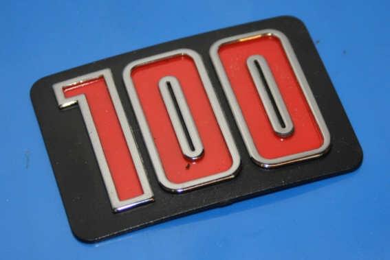 Plakette R100 f.Sitzbankheck