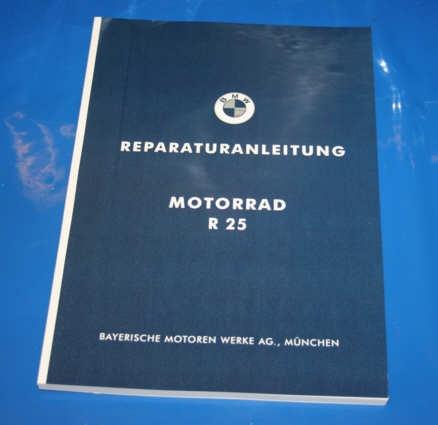 Werkstatthandbuch R25 deutsch mit Nachtrag R25/2 R25/3