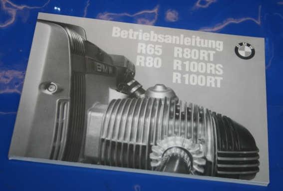 Betriebsanleitung R65/80/100 85-