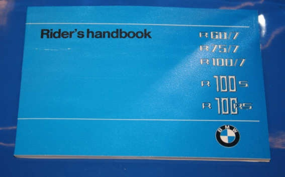 Betriebsanleitung R60/7,75/7,100 english owners manual