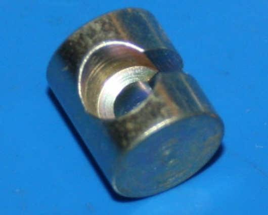 Aufnahme Kuppl.Zug 10mm Loch 6mm verzinkt