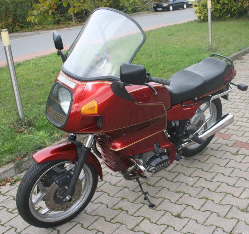 Motorrad R80RT EZ 3/1991 45000KM HU neu