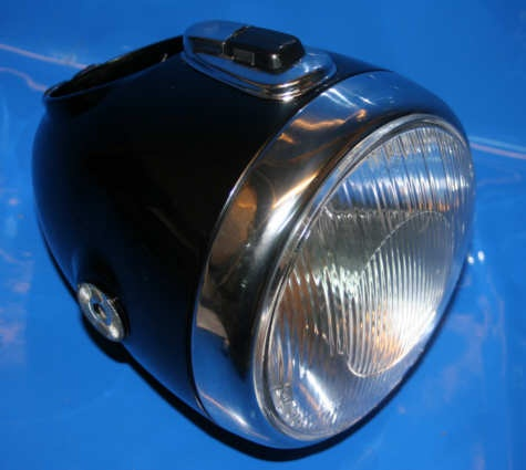 Scheinwerfer R25/3-69S kpl.mit Platine+Zündschloß