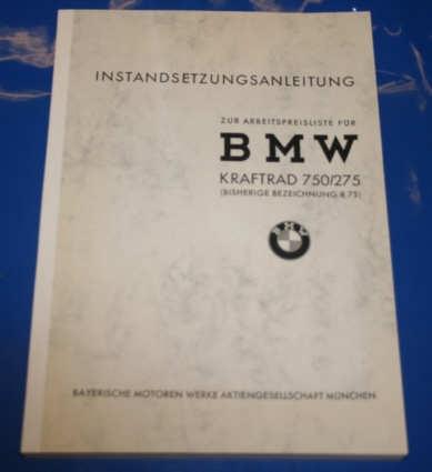 Werkstatthandbuch R75 Wehrmacht Deutsch