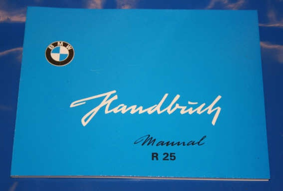 Betriebsanleitung R25 english owners manual