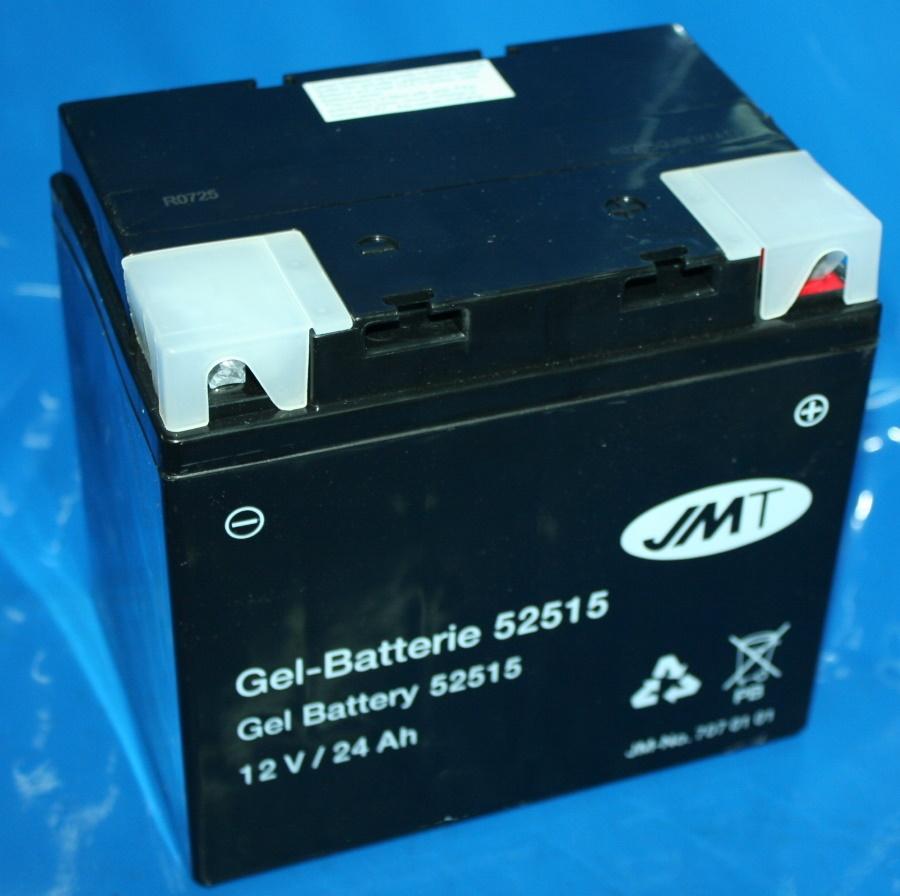 Batterie 12V 24AH GEL BMW/Guzzi u.a.