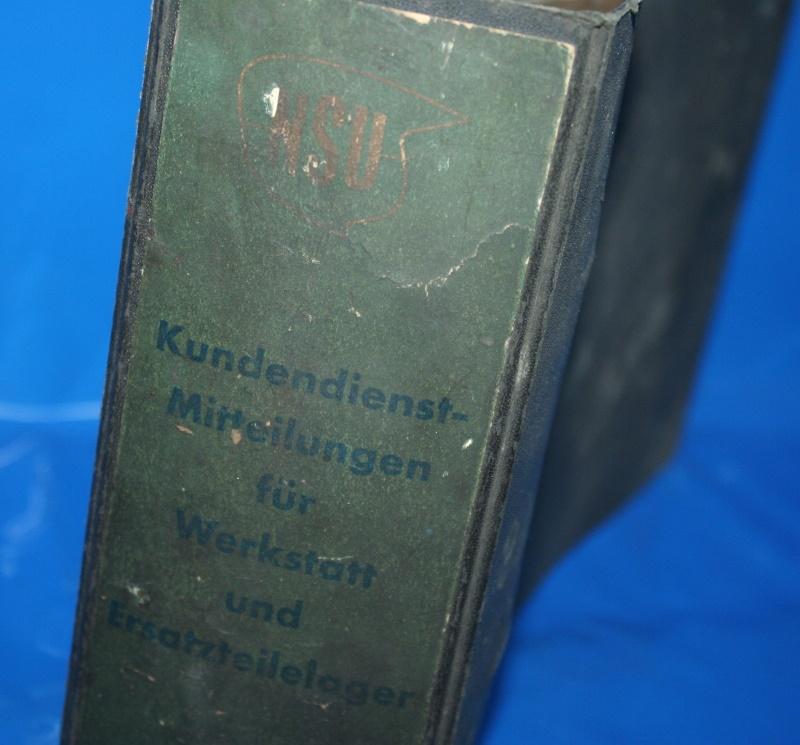 NSU Kundendienst Mitteilungen NSU 1954-1960 GEBRAUCHT