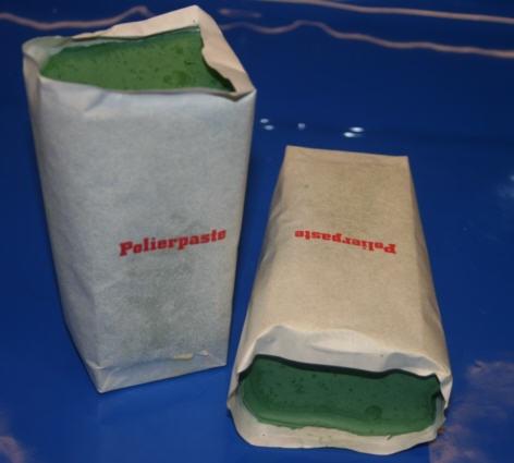 Edelstahl-Polierpaste (grün)