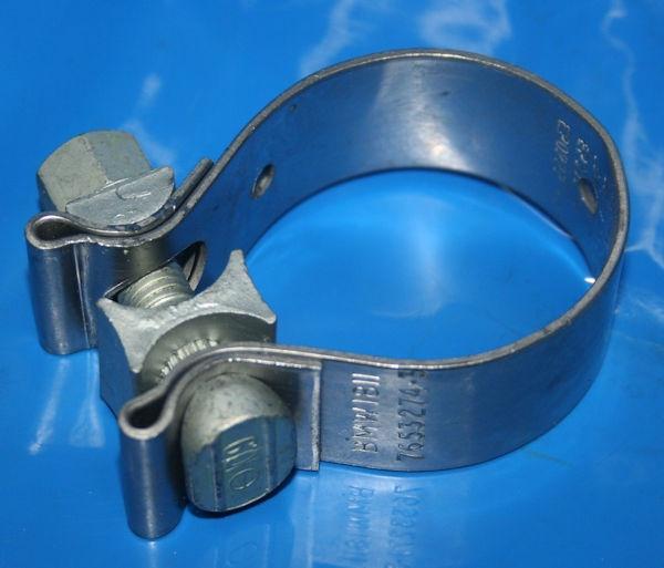 Schelle Krümmer/Sammler R1150R GS R1100S D=45mm+Krümmerverb,