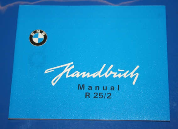 Betriebsanleitung R25/2 english owners manual