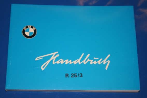 Betriebsanleitung R25/3 deutsch