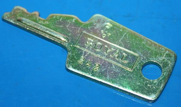 Schlüssel Krauser S342 Royal