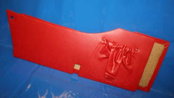 Innenverkleidung S250 rot Steib Paar mit Kartentasche