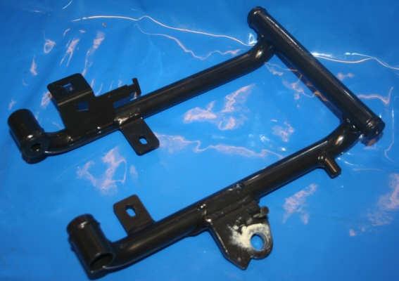 Rahmen Unterteil F650GS unten mit Ständeraufnahme G650GS