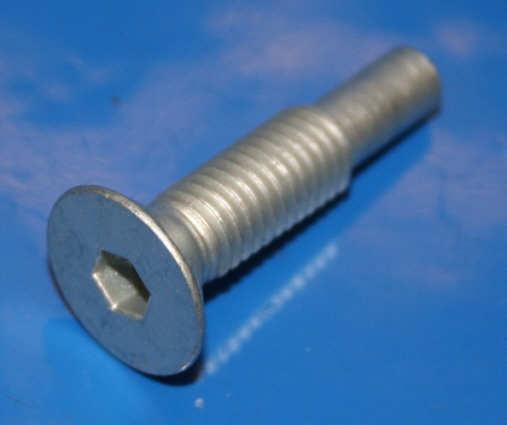 Schraube Seitenständer 9/80- Senkkopf mit Zapfen