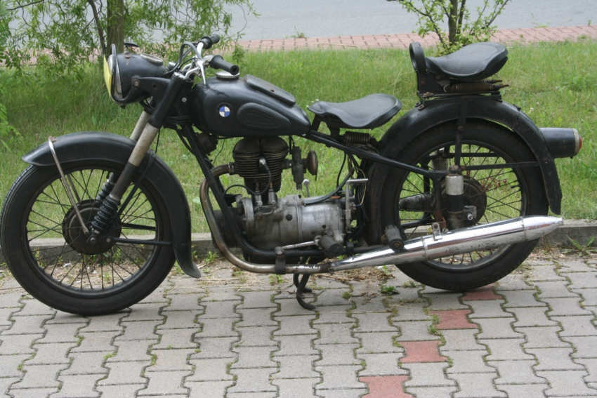 Motorrad R25/2 Bj.1953 komplett zum Restaurieren
