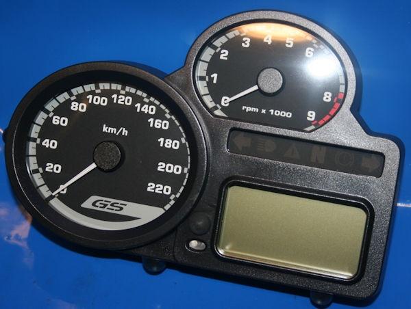Instrumenten-Kombi R1200GS +Adv. KM/H 30.0