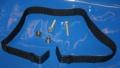 Halteriemen Topcaseträger R1100GS 1150GS mit Schrauben