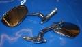 Spiegel links Lenkerende chrom oval