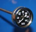 Öltemperaturanzeiger R 50/60/69 235mm schwarzes Ziffernblatt