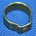 Schelle 11,8-13,8 Schlauch Bremsfl. Behälter R100RS hinten