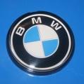 Plakette BMW am Integralkoffe +R4